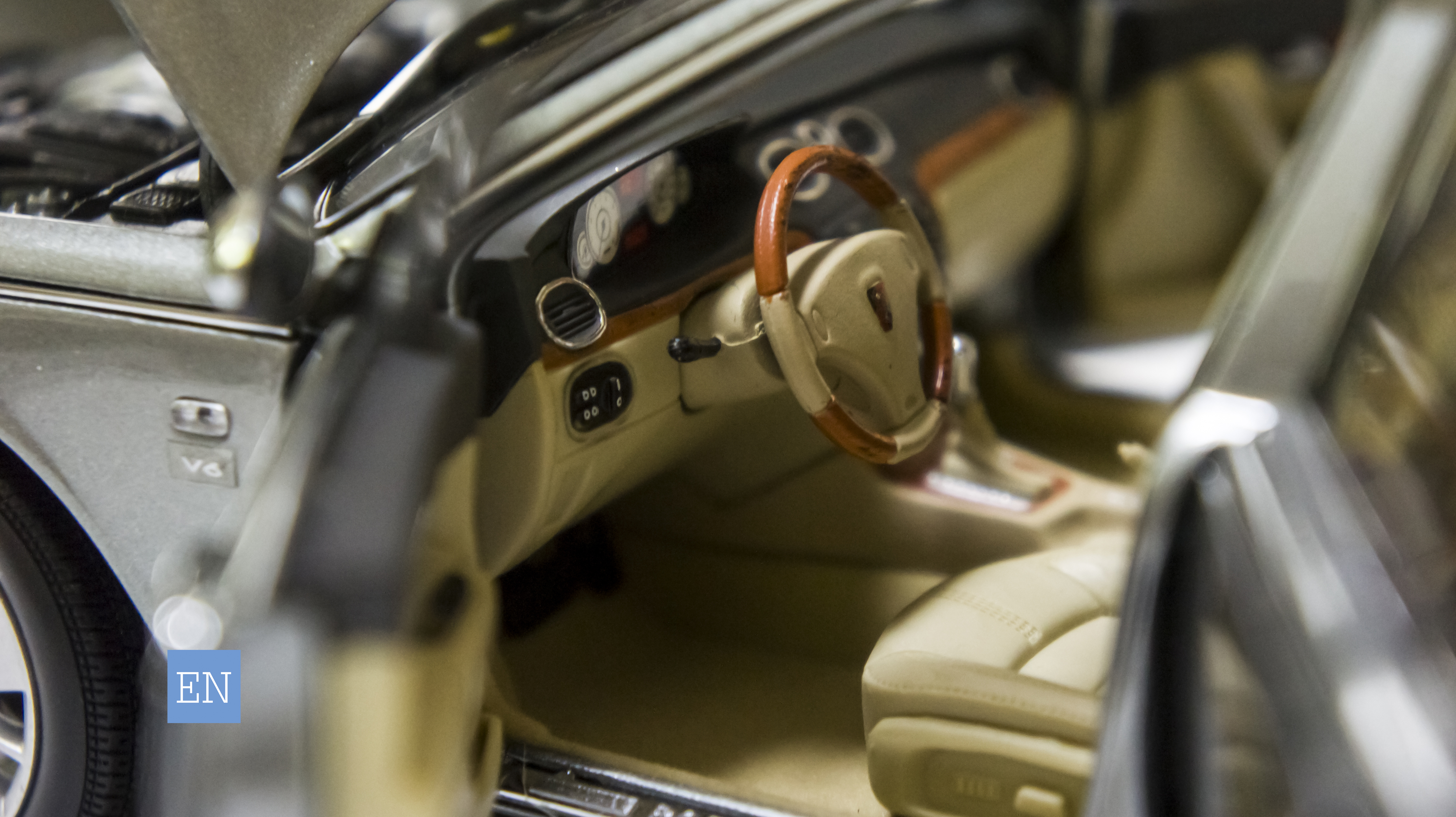 Roewe-750D - Model - Interior - Driver's side